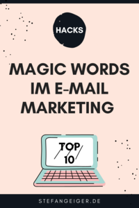 Magic WOrds EMail Marketing